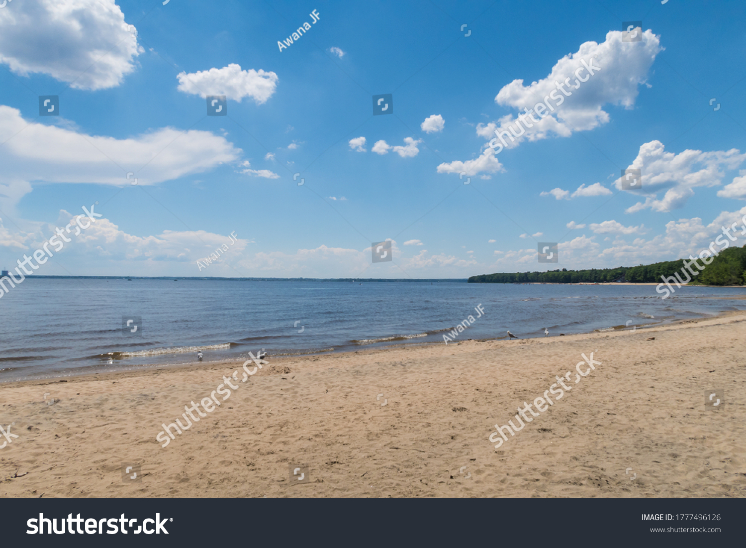 stock-photo-view-of-the-sand-beach-and-l