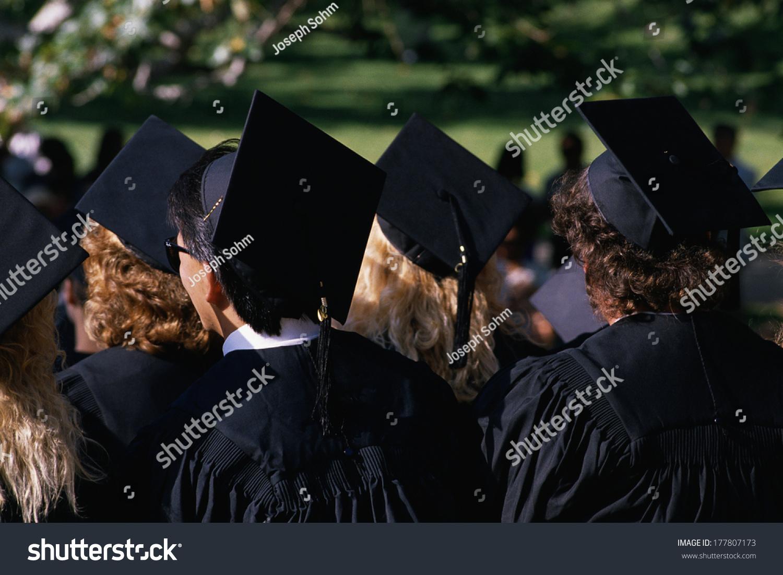 This College Graduation Ceremony Ucla They Stock Photo Edit Now