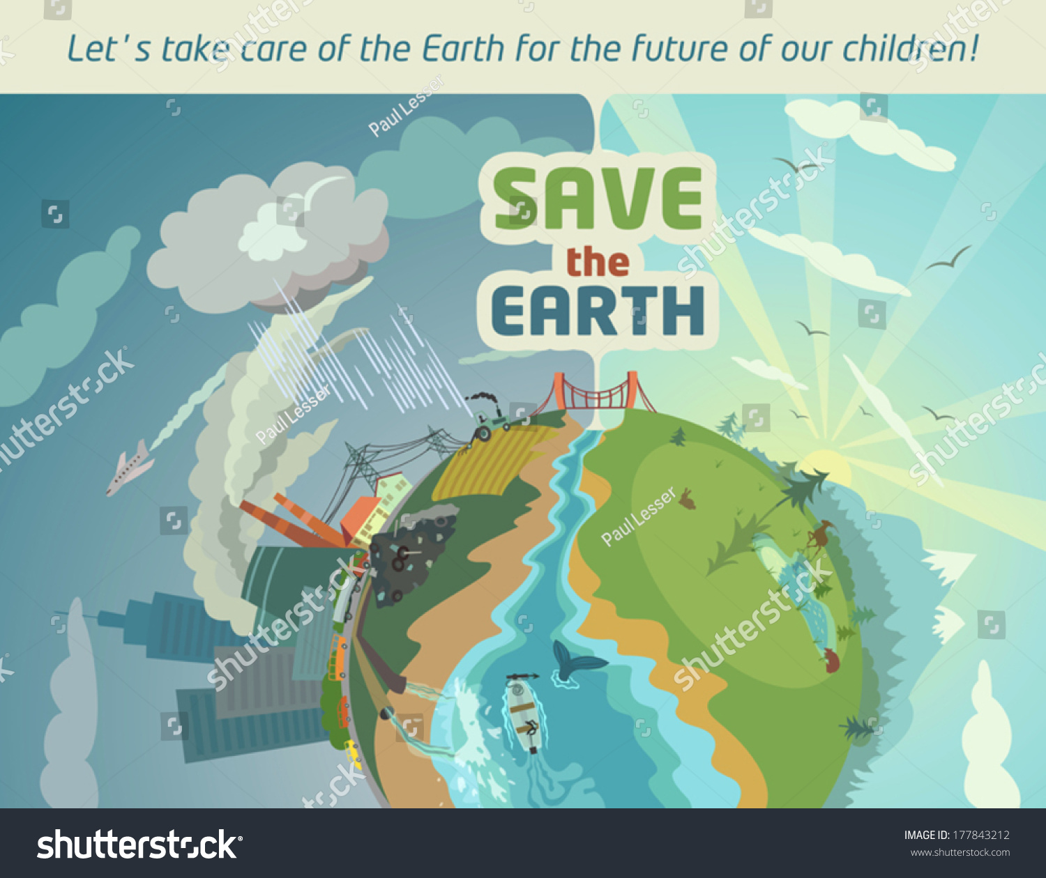 Essay of save the earth