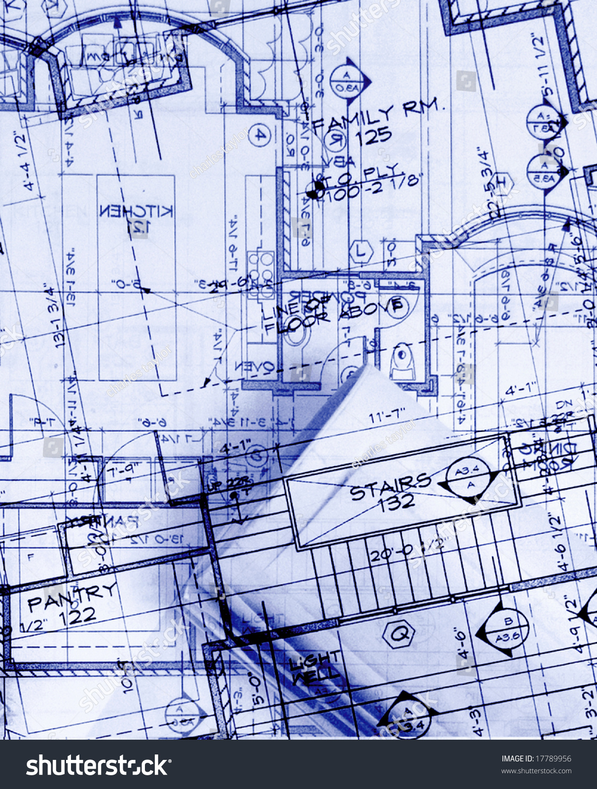 Incredible Abstract House Plans In Blue Stock Photo 17789956 Avopix Com Download Free Architecture Designs Embacsunscenecom