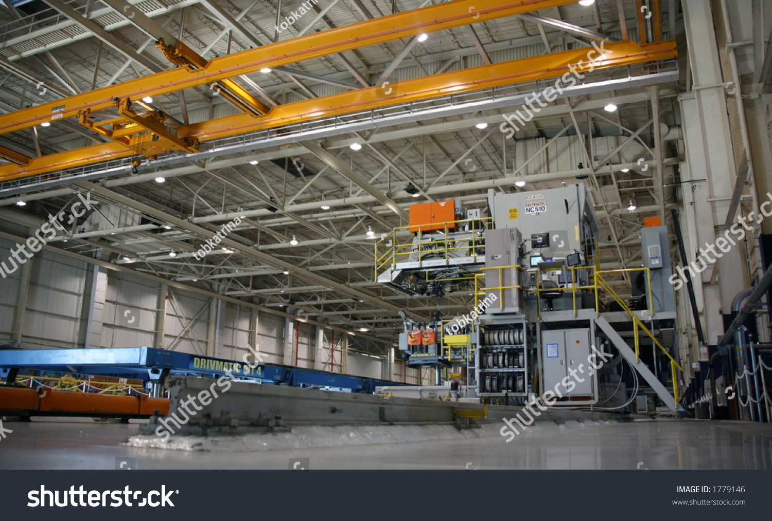 inside aerospace production facility - photo #3
