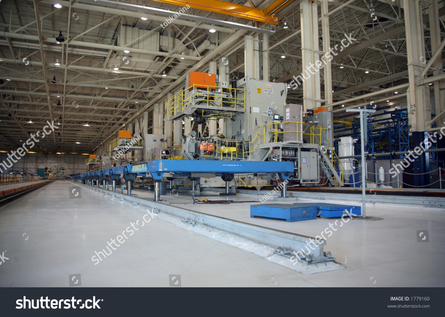 inside aerospace production facility - photo #4
