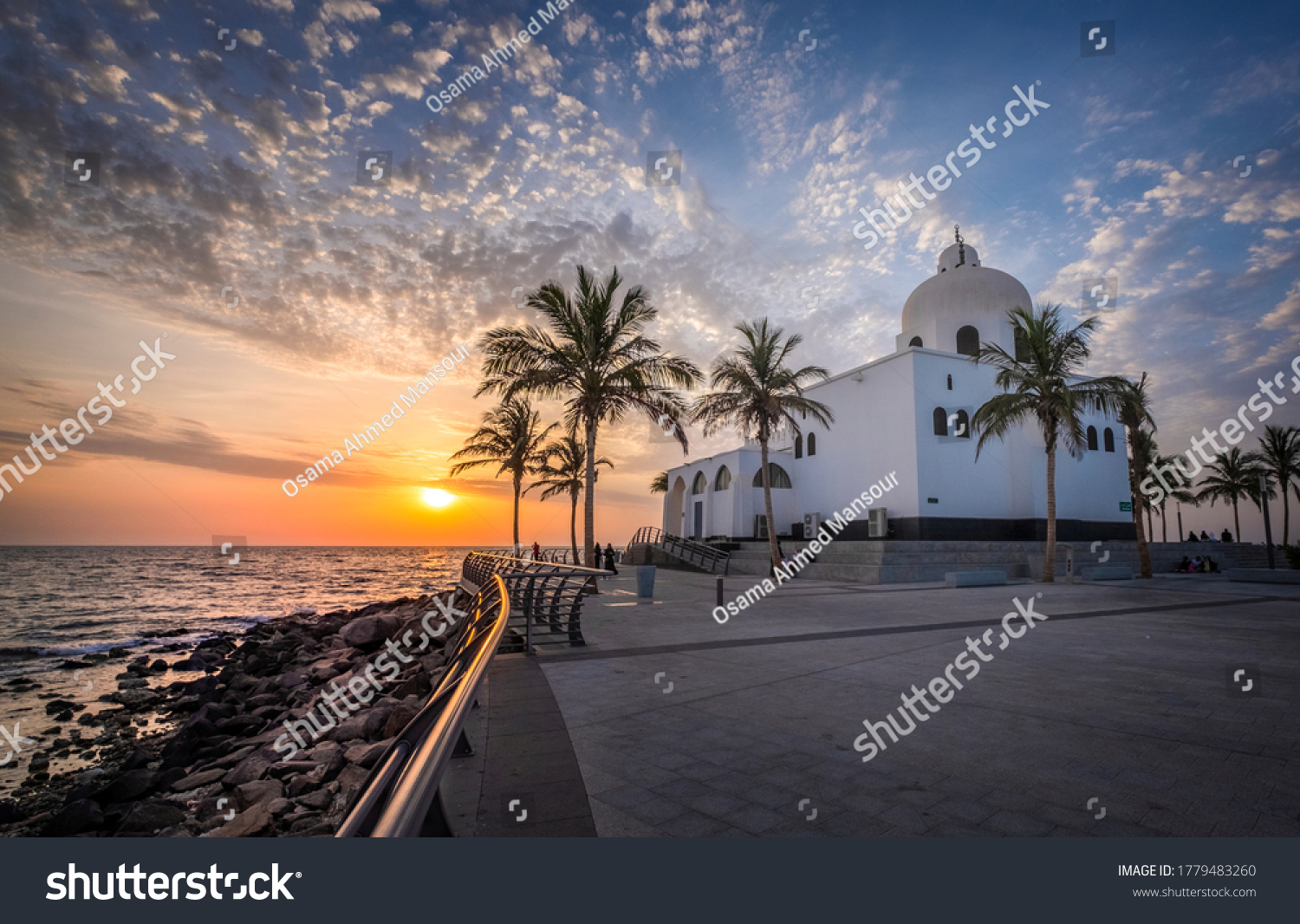 Waterfront Mosque, Jeddah Corniche, Red Sea Coast