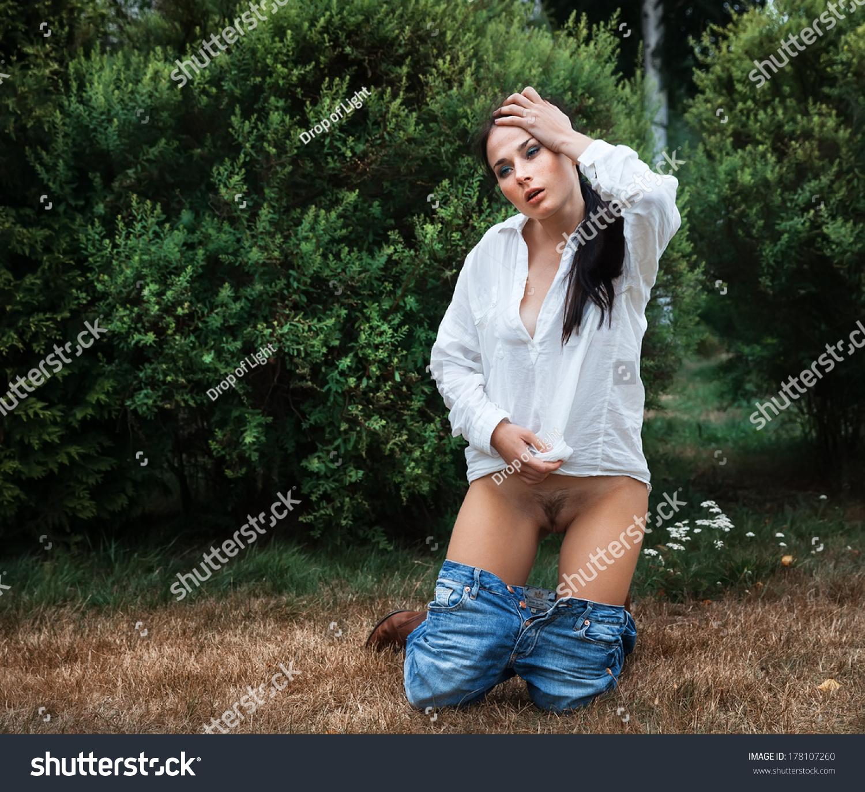 Nude shy teen