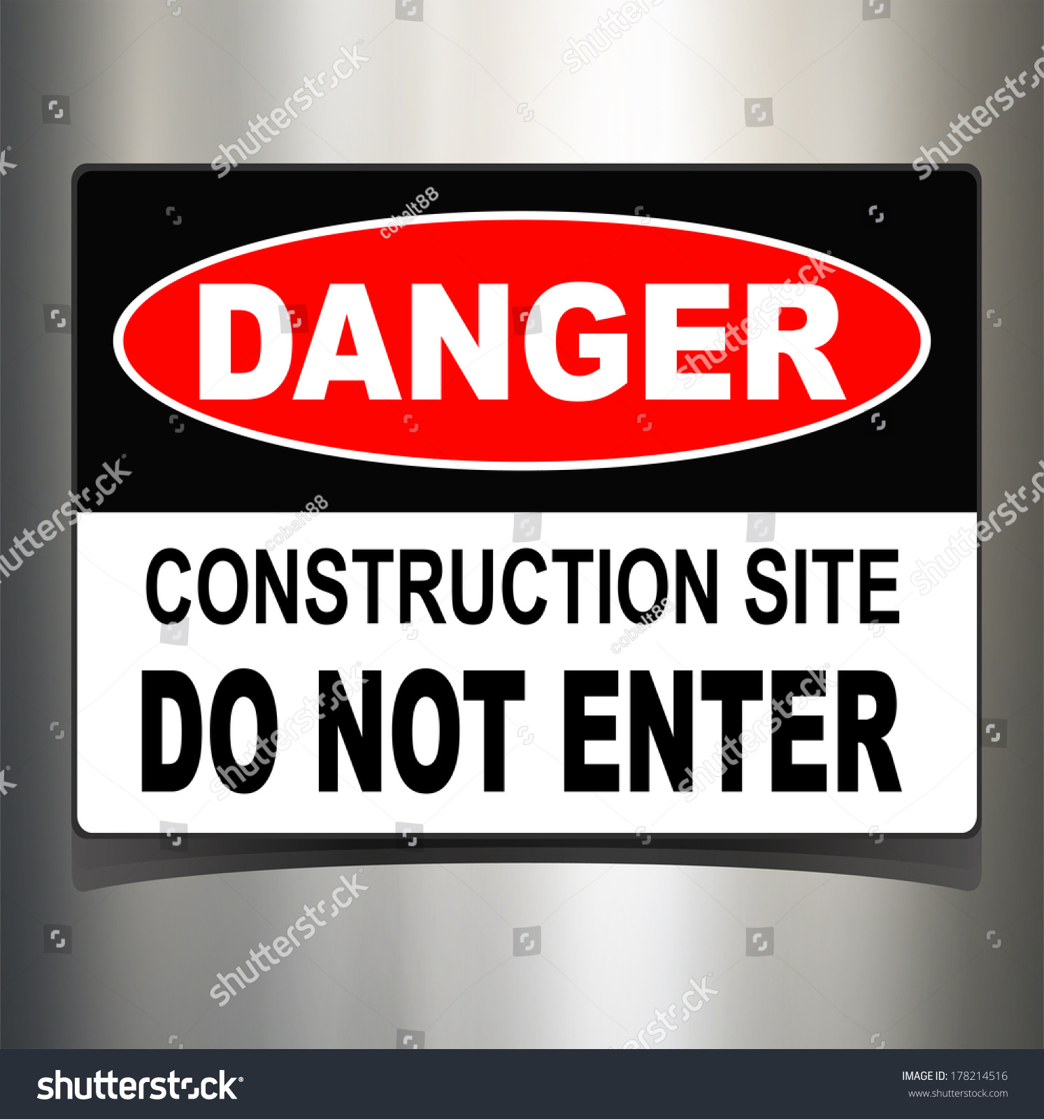 technology sign danger warning background shutterstock vector
