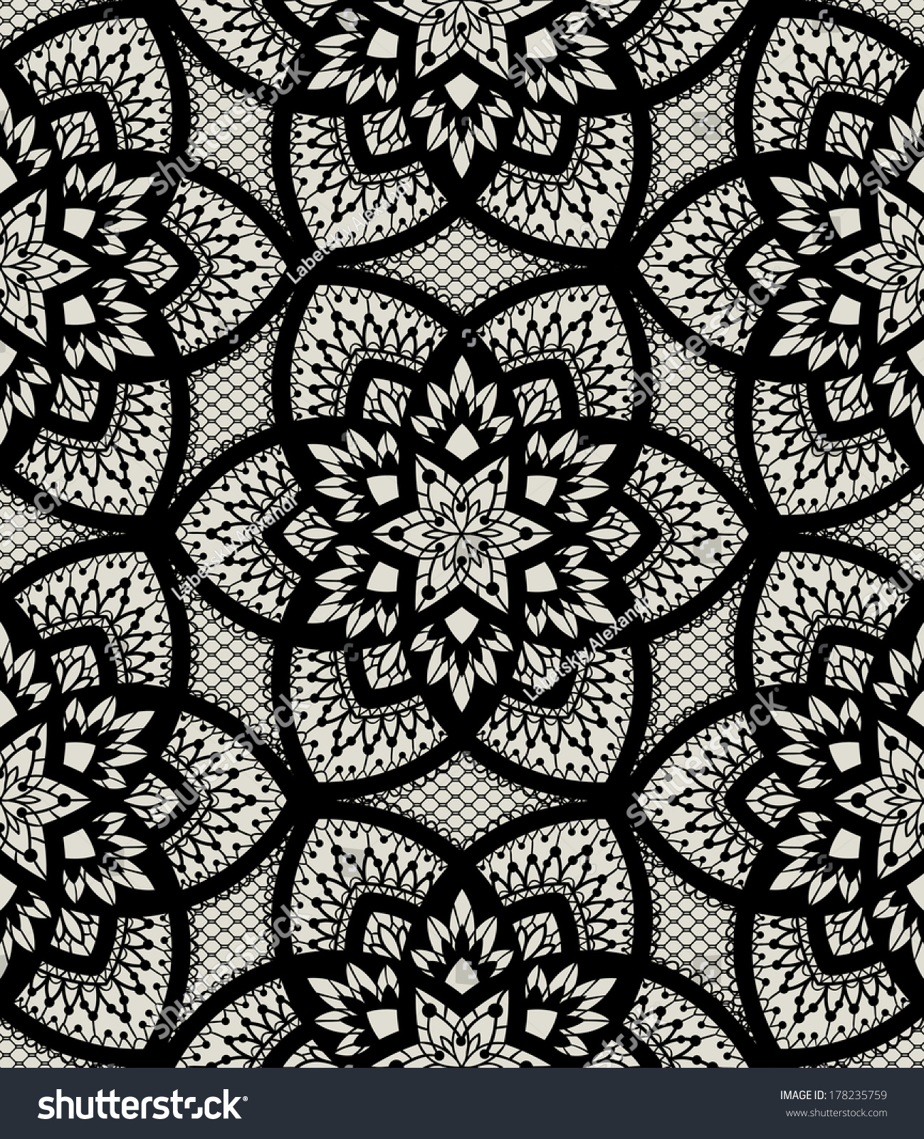 Temporary Fabric Wallpaper Seamless Background Vector Ornament Fashionable Modern