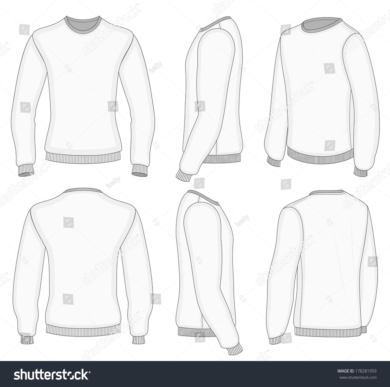 Long sleeve t shirt template illustrator free maxwellsz