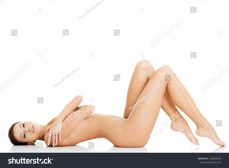 naked model lying down