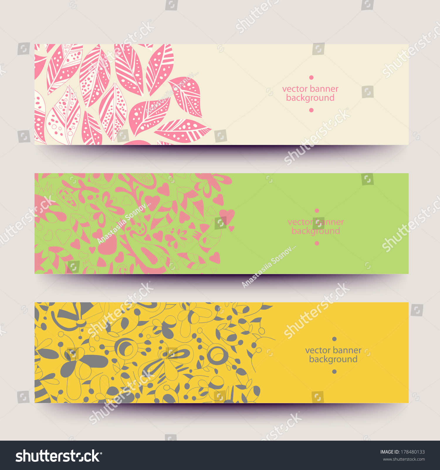 Banners business cards labels tags unique stock vector 178480133 banners for business cards labels tags unique design and interesting solutions hand magicingreecefo Gallery