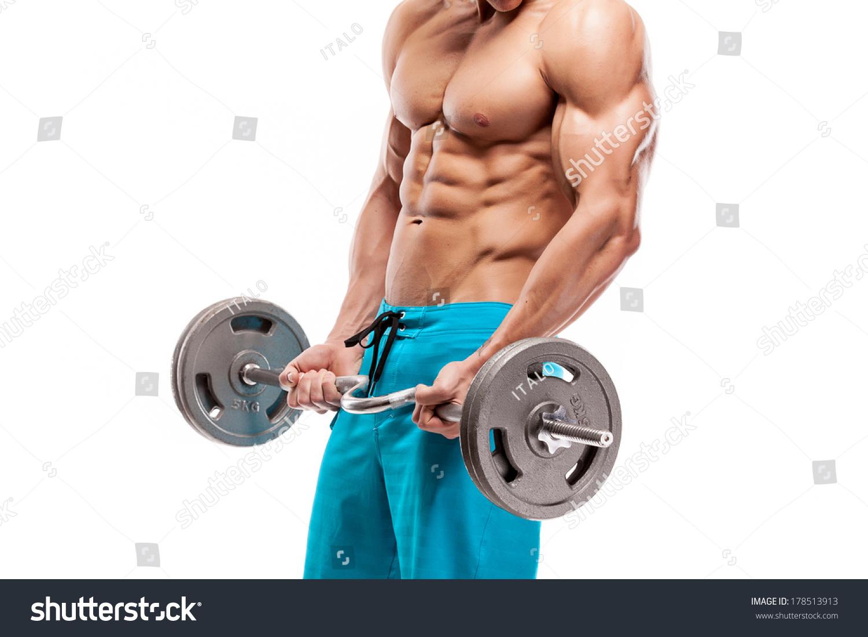 http://image.shutterstock.com/z/stock-photo-muscular-bodybuilder-guy-doing-exercises-with-dumbbells-isolated-over-white-background-178513913.jpg
