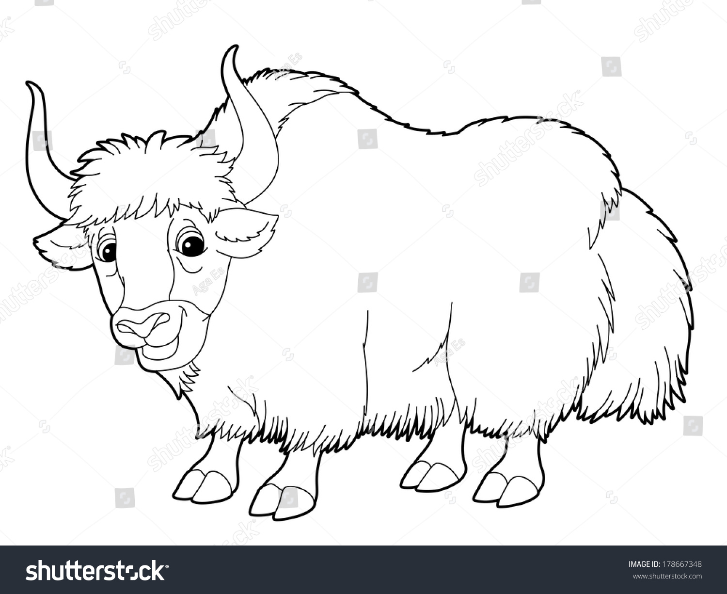 Coloring pages yokai