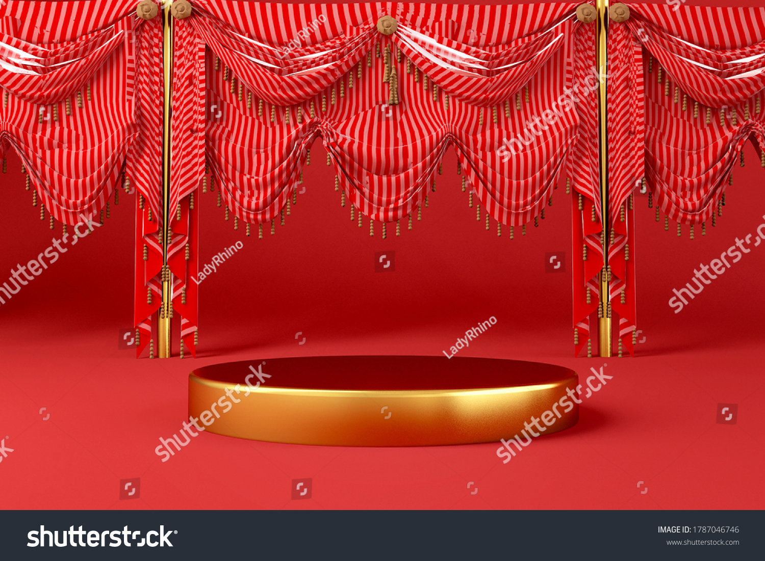 stock-photo-gold-stage-podium-or-product