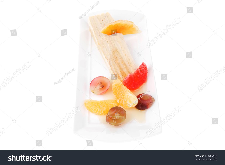 Slice of grapefruit cake 47