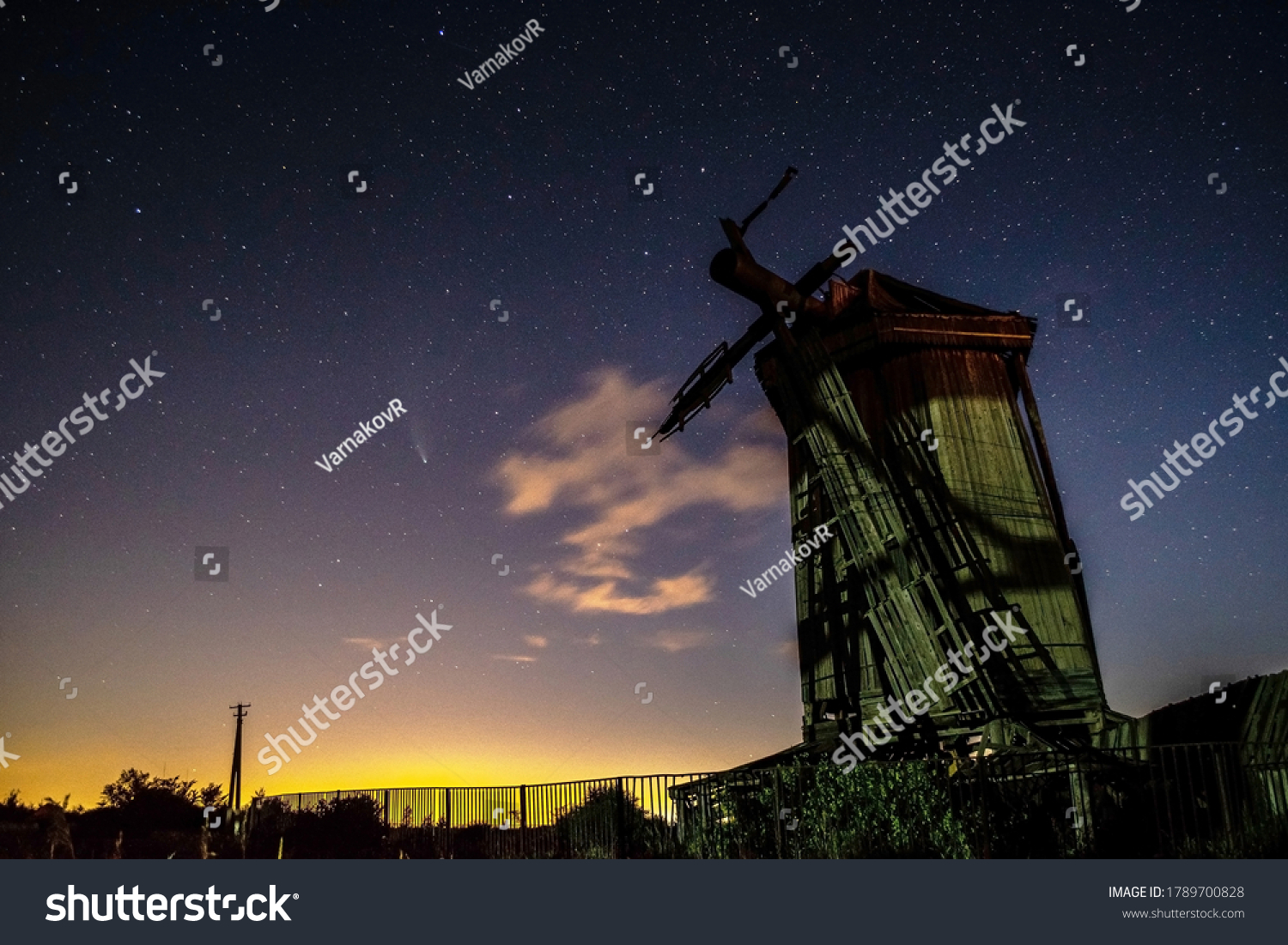 stock-photo-summer-clear-night-sky-with-