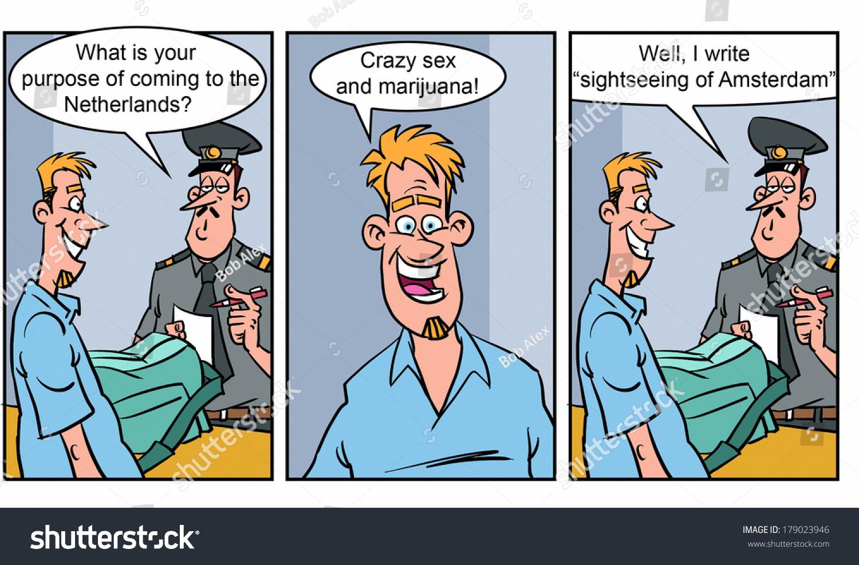 Adult Sex Cartoon Pics adult comics strip 2 stock illustration 179023946