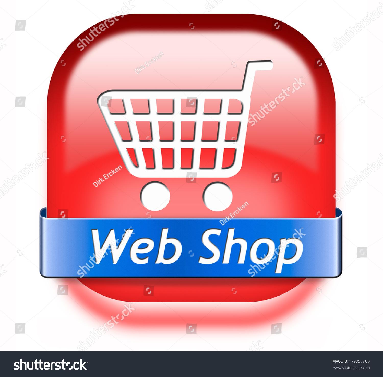 Shop online button