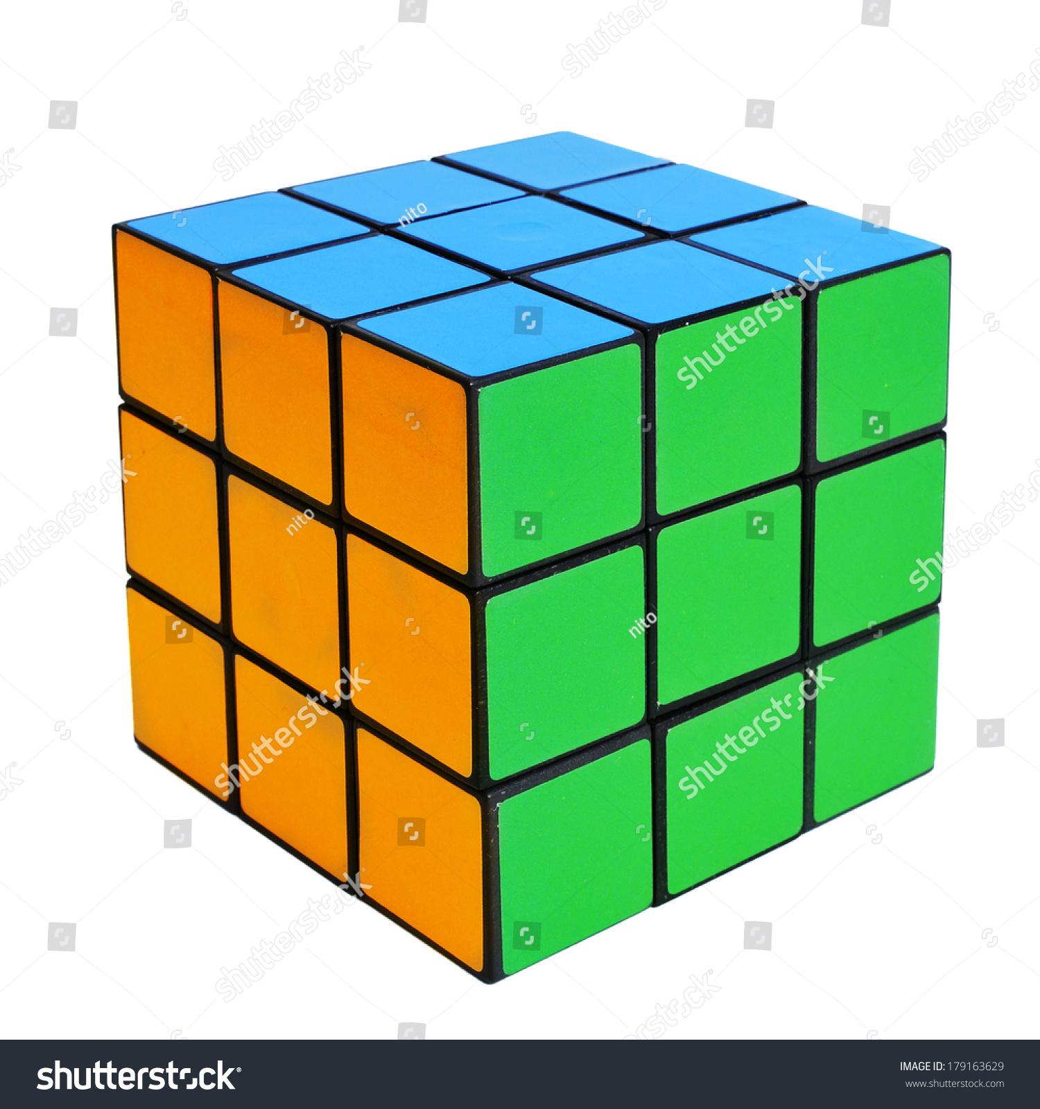 Tarragona spain february 3 2014 rubiks cube on a for Rubik espana