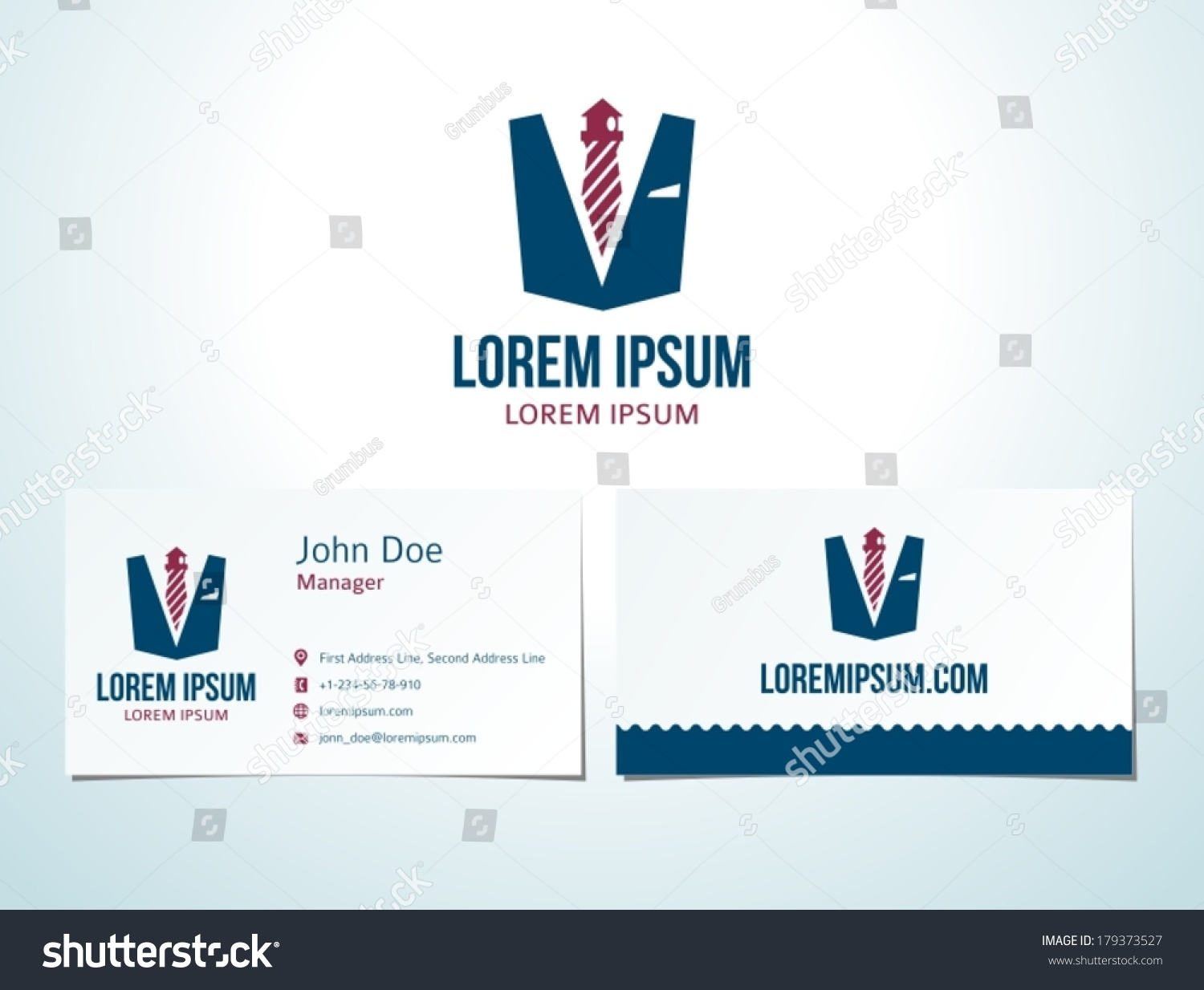 Tie Lighthouse Icon Vector Design Elements Stock Vector 179373527 ...
