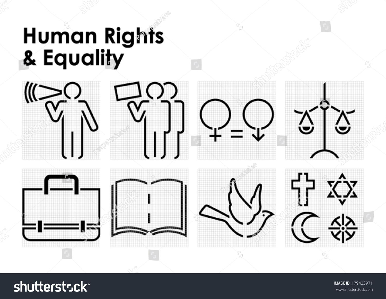 Symbols For Human Rights