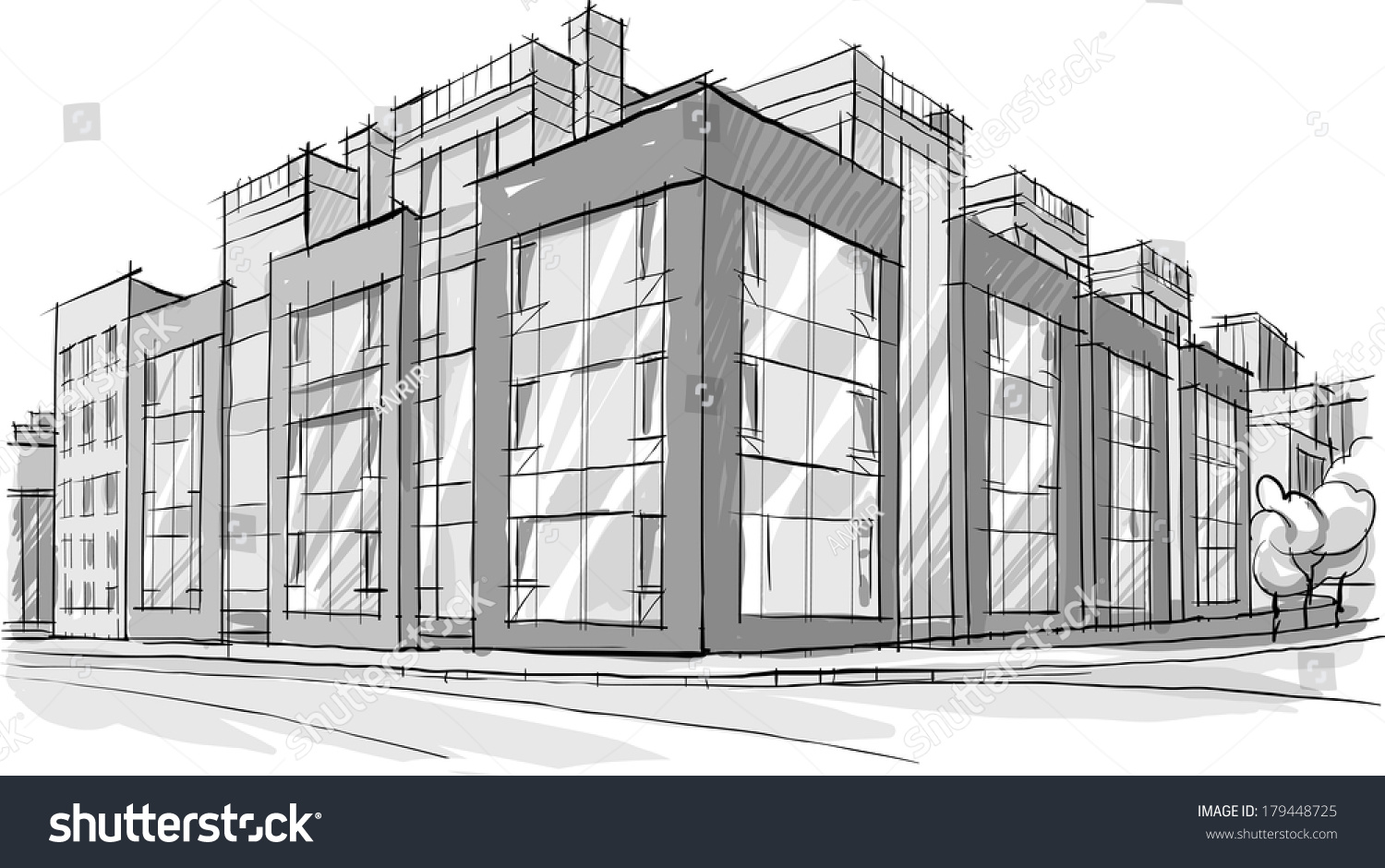 One Man's Quest to Draw 900,000 Buildings in New York City ... |City Building Sketches