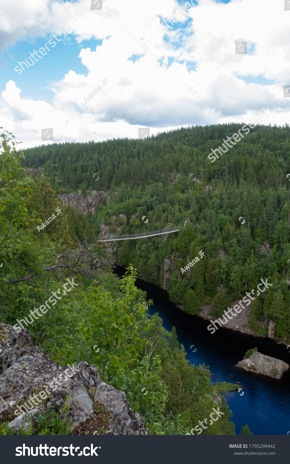 stock-photo-vertical-view-of-a-suspensio