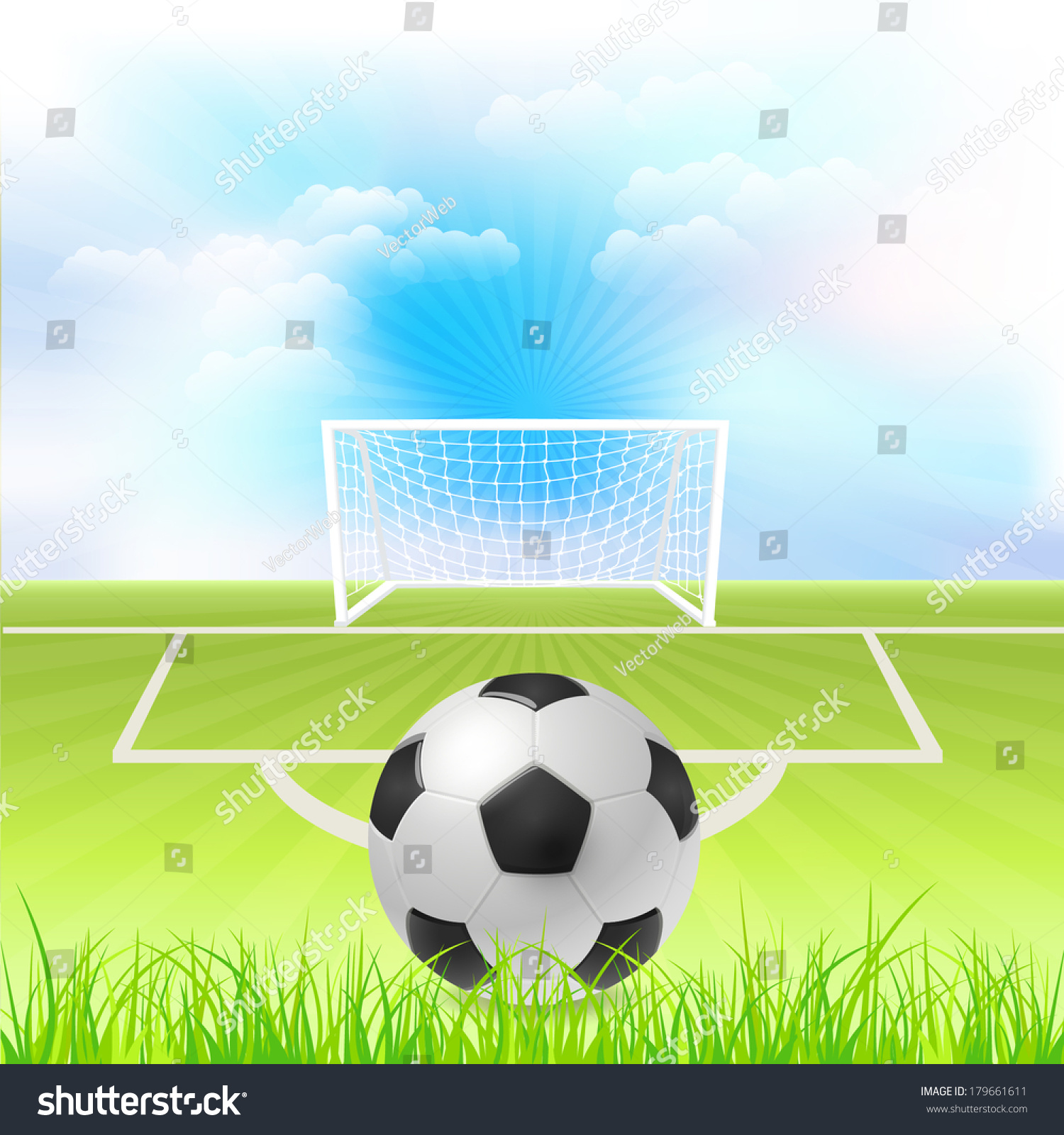 football event poster template vector background stock vector