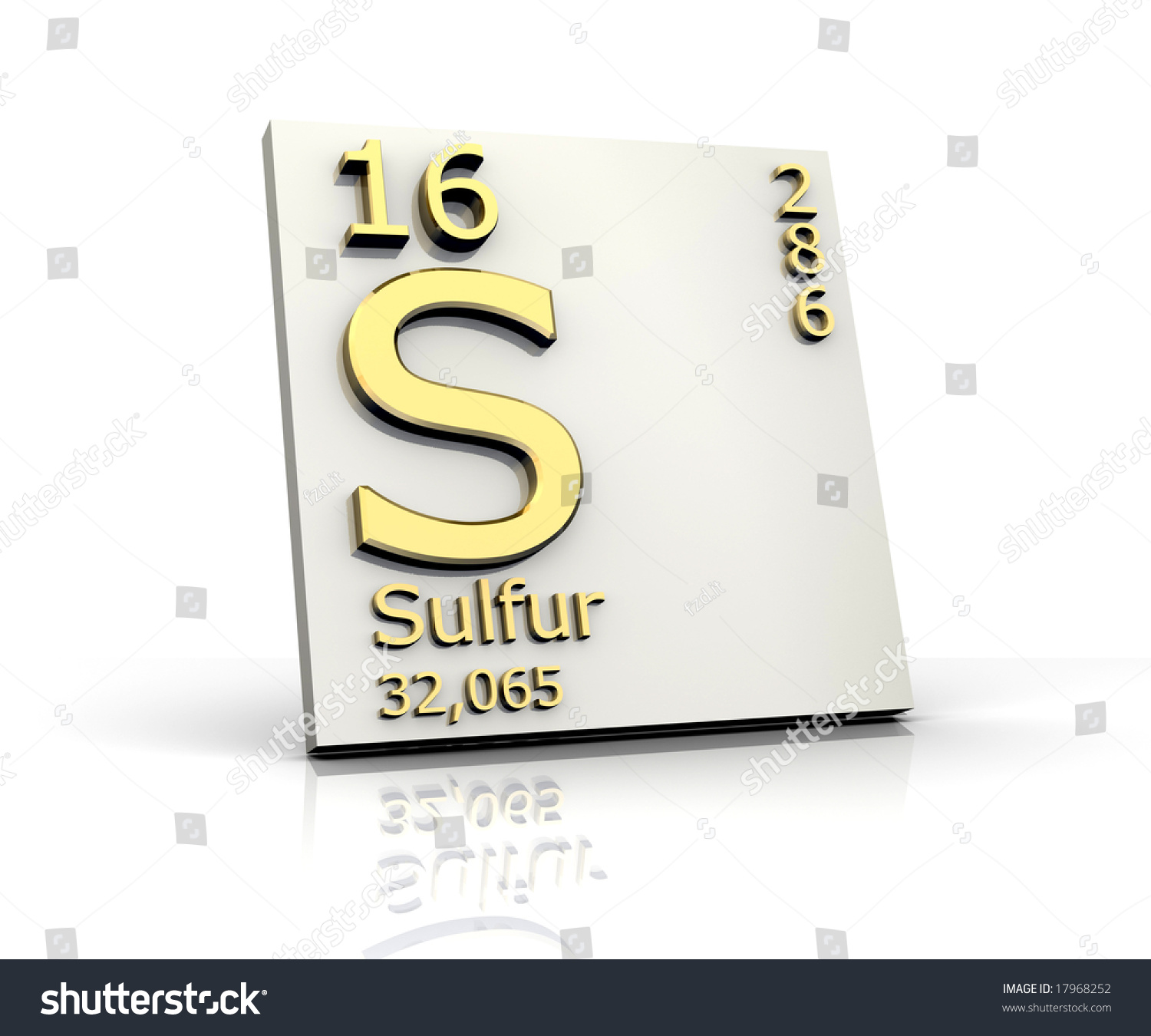 Sulfur form periodic table elements stock illustration 17968252 sulfur form periodic table of elements gamestrikefo Image collections
