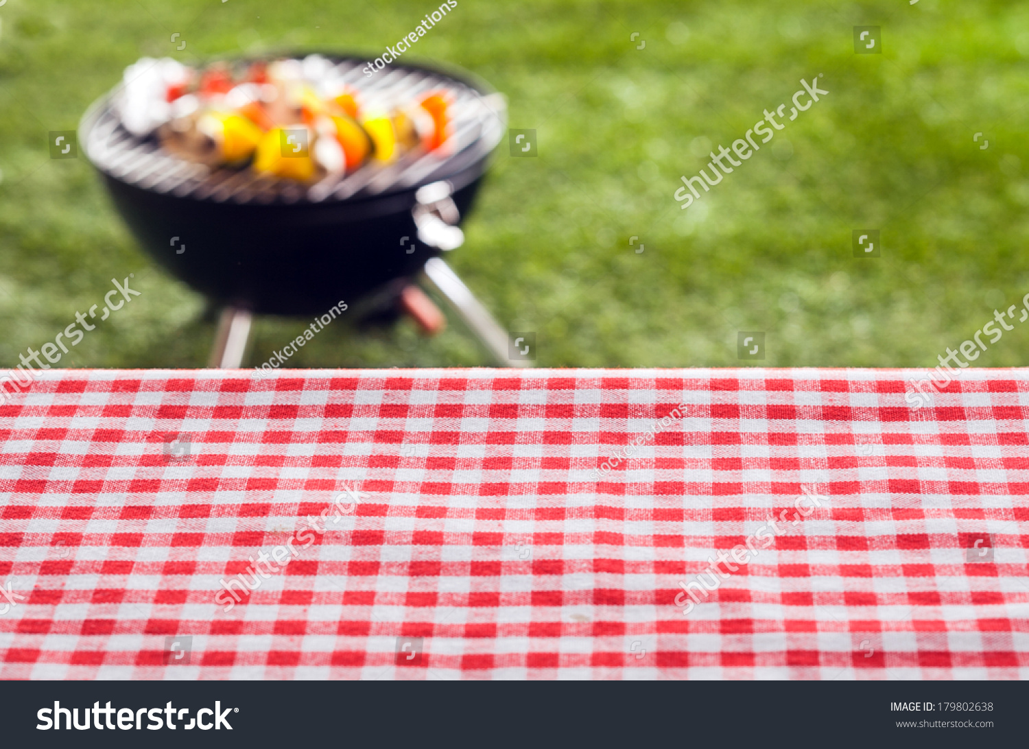 Picnic Table Background Empty Picnic Table Background Covered Fresh Stock Photo 179802638
