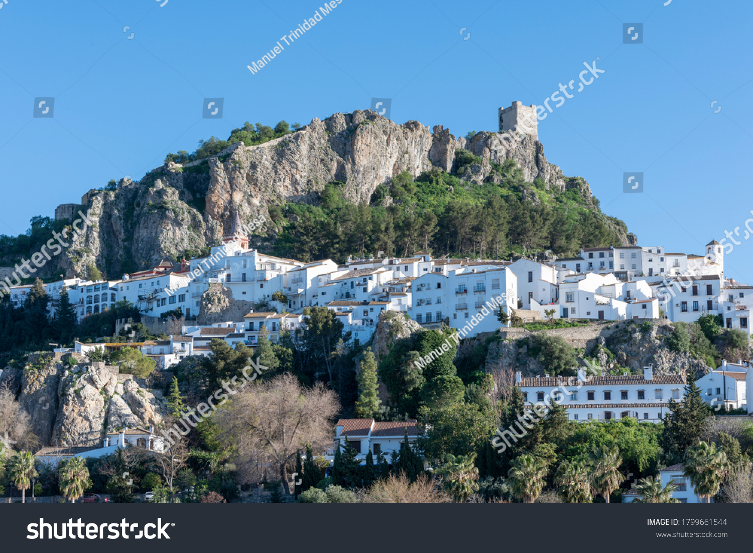 Zahara de la Sierra, Spanish municipality in the province of Cadiz, in the mountains of Andalusia