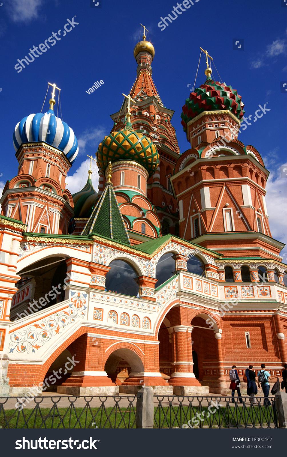 Saint Basils Cathedral Symbol Of Russia Ez Canvas