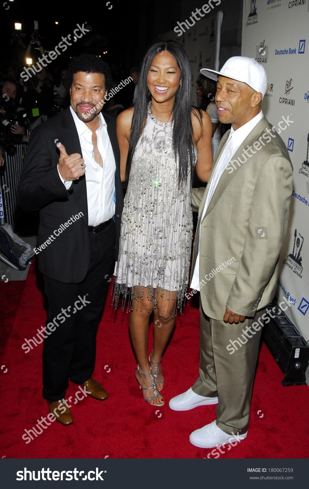 Lionel Richie Kimora Lee Simmons Russell Stock