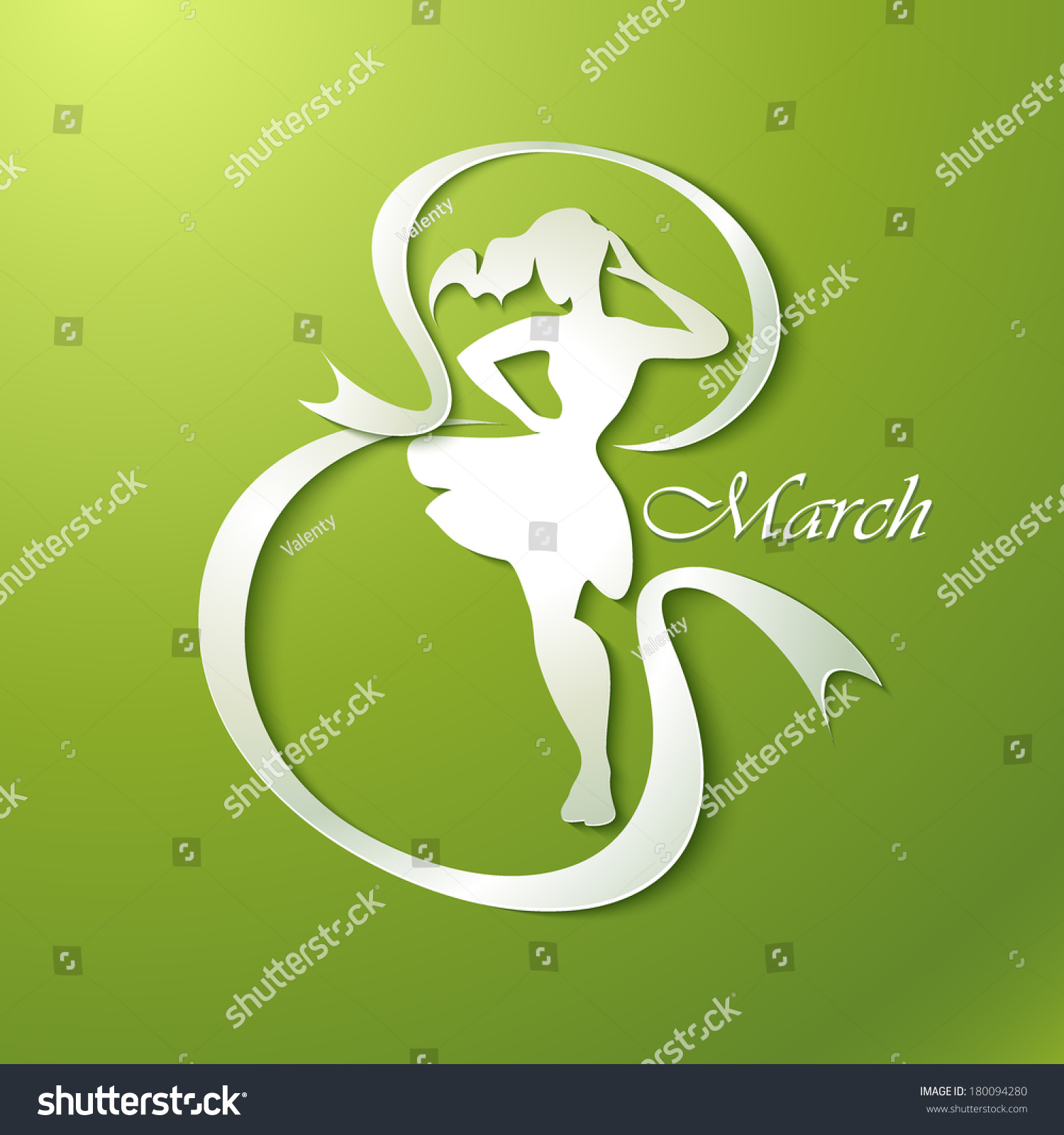 Happy March Images Stock Vector Happy Women S Day Greeting Card