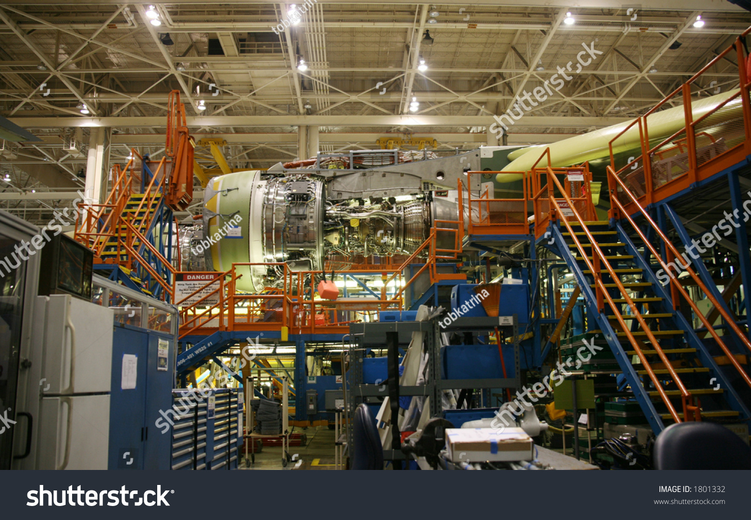 inside aerospace production facility - photo #9