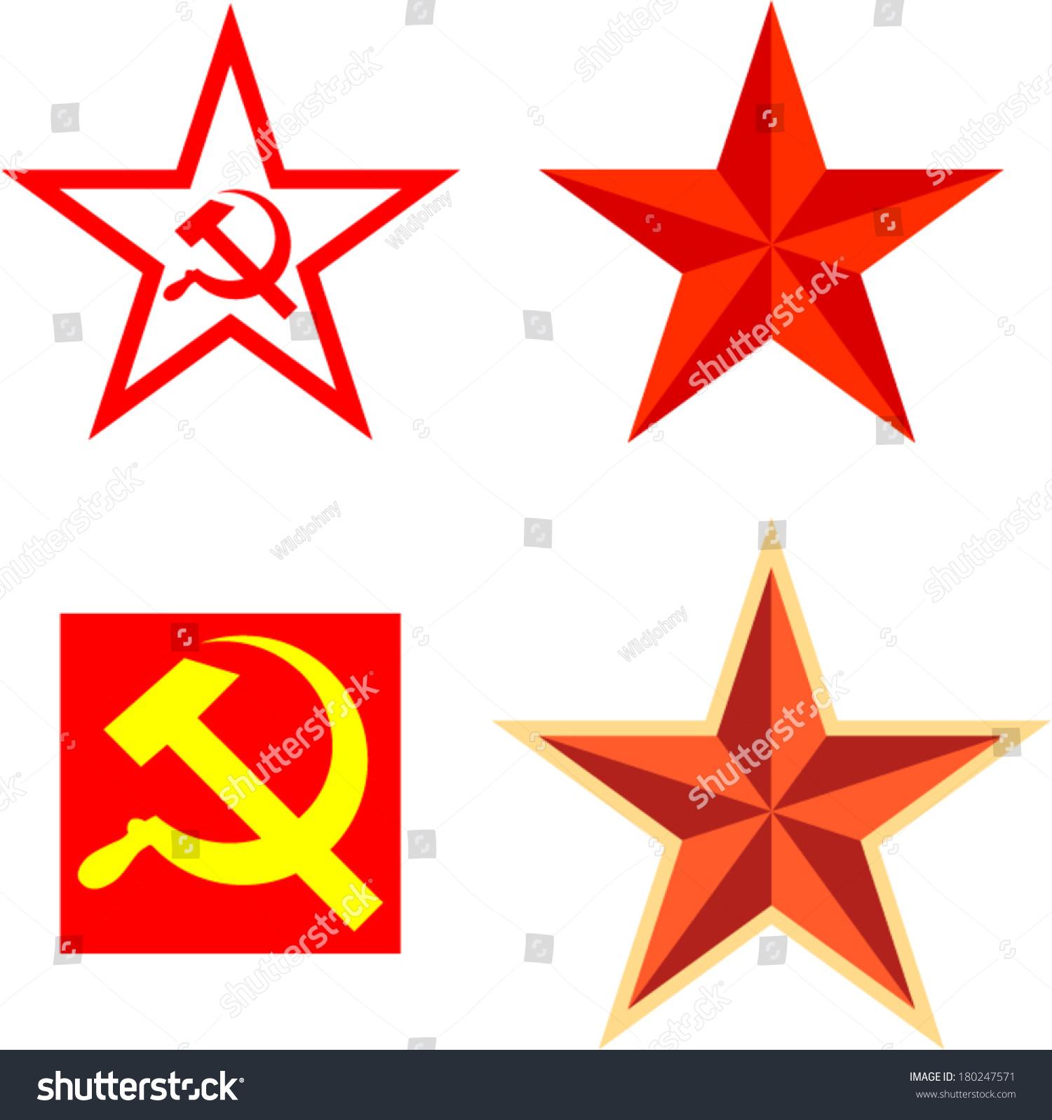 Vector pack communism symbols stock vector 180247571 shutterstock vector pack with communism symbols biocorpaavc