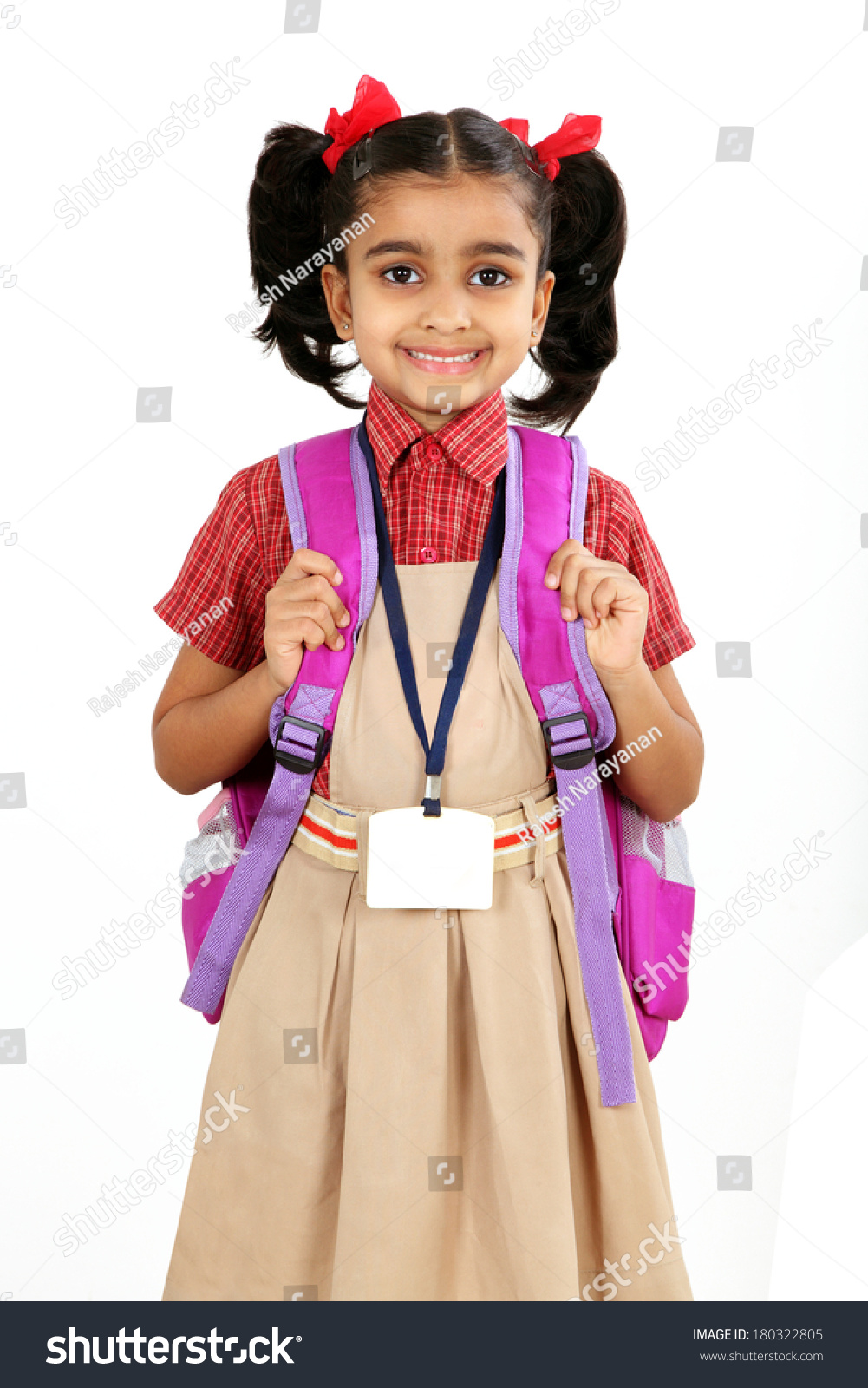 Primery School Dress Girl