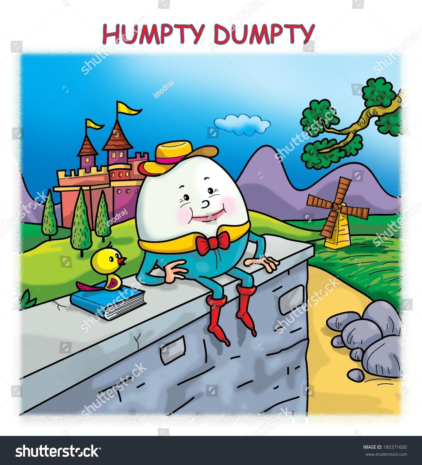 Humpty Dumpty Stock Illustration 180371600 Shutterstock