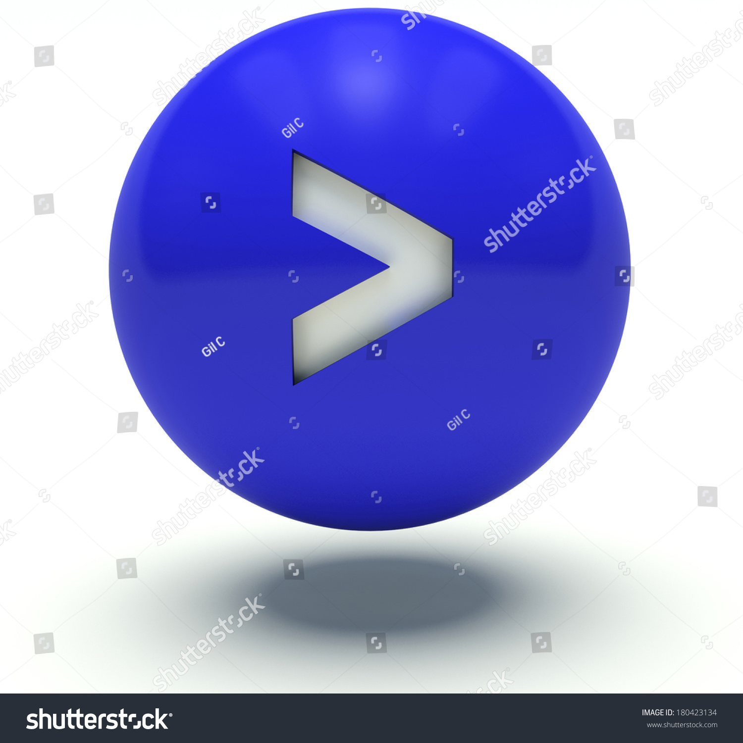 Blue ball greaterthan sign 3d render stock illustration 180423134 blue ball greater than sign 3d render illustration biocorpaavc Images