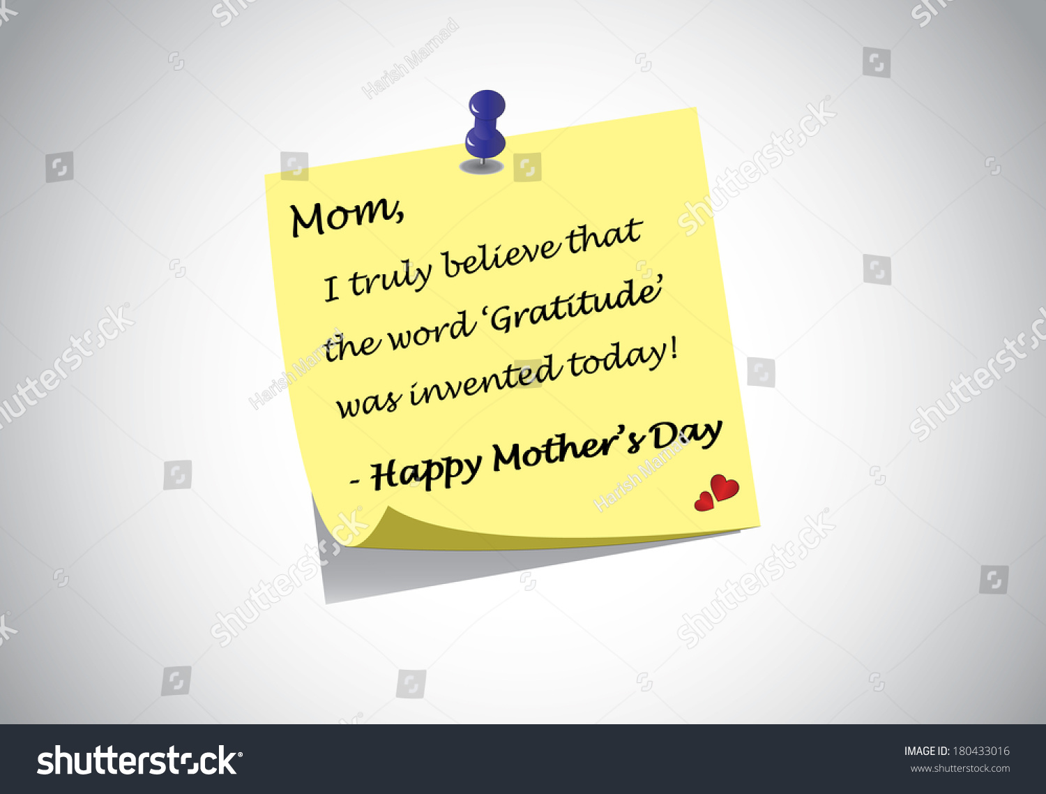 Different Colorful Happy Mothers Day Quotes Stock Vector Royalty