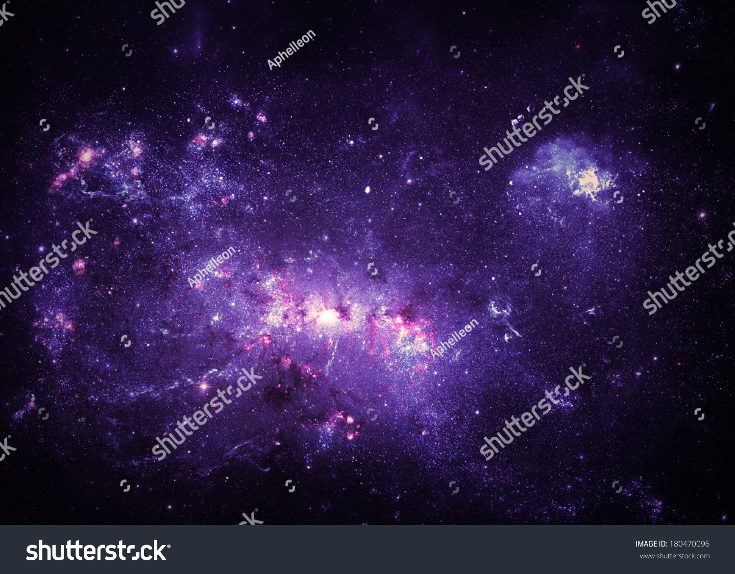 Purple Nebulae - Elements Of This Image Furnished By Nasa ...
