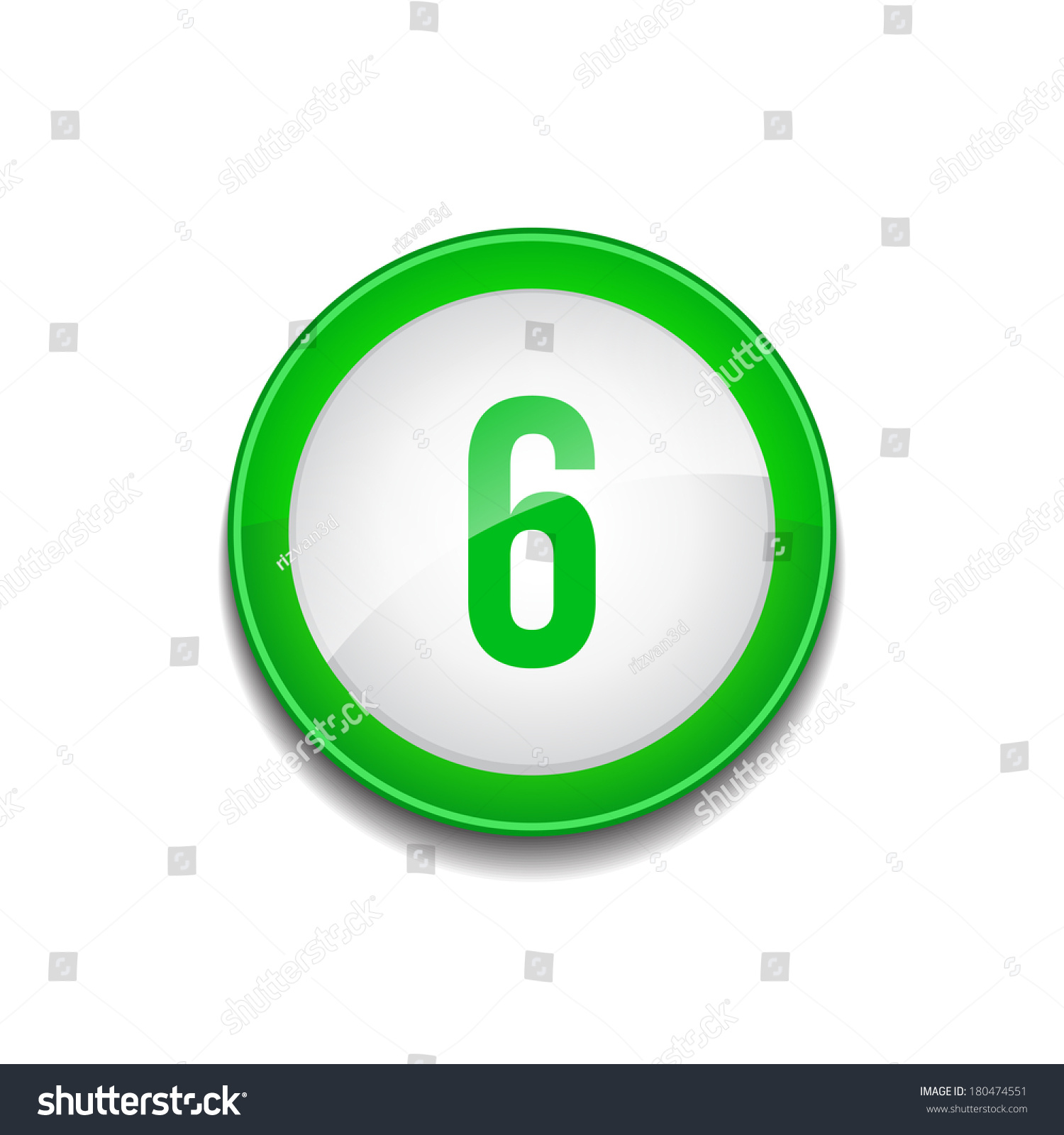 Number Sign Vector Wiring Diagrams Diagramofseriescircuitforkidsjpg 6 Circular Green Stock 180474551 House Shapes