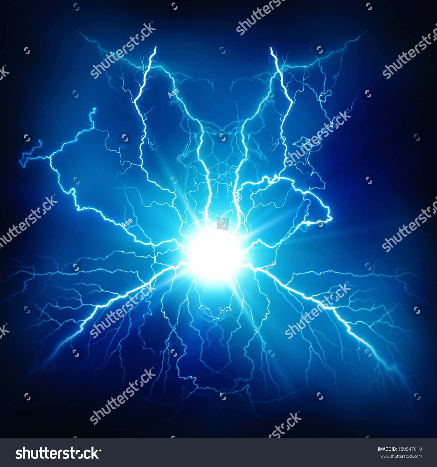 Electric Lighting Effect Abstract Techno Backgrounds Stock ...