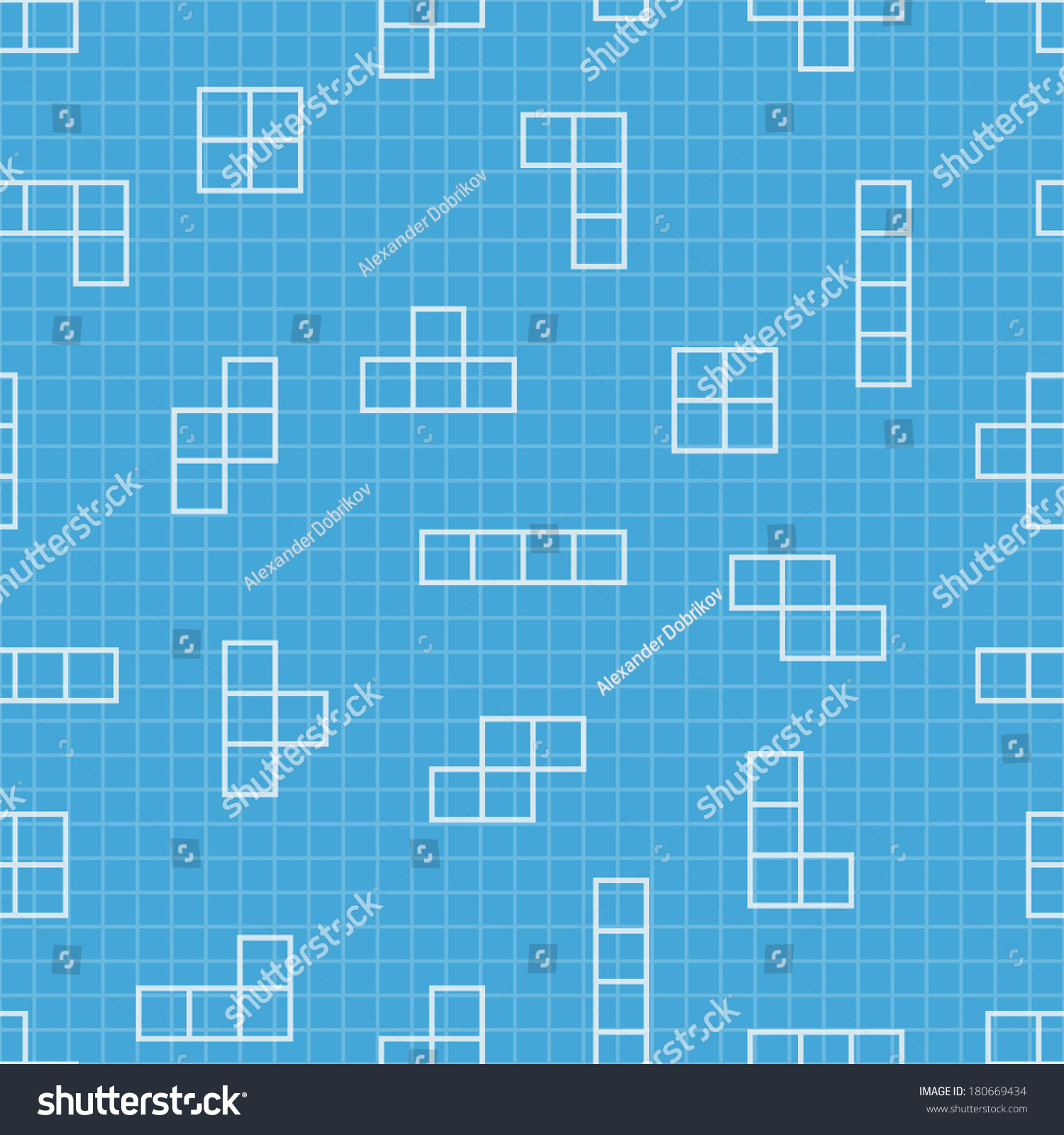 Seamless pattern blueprint design vector elements stock vector seamless pattern blueprint design vector elements game background minimal illustration use malvernweather Images