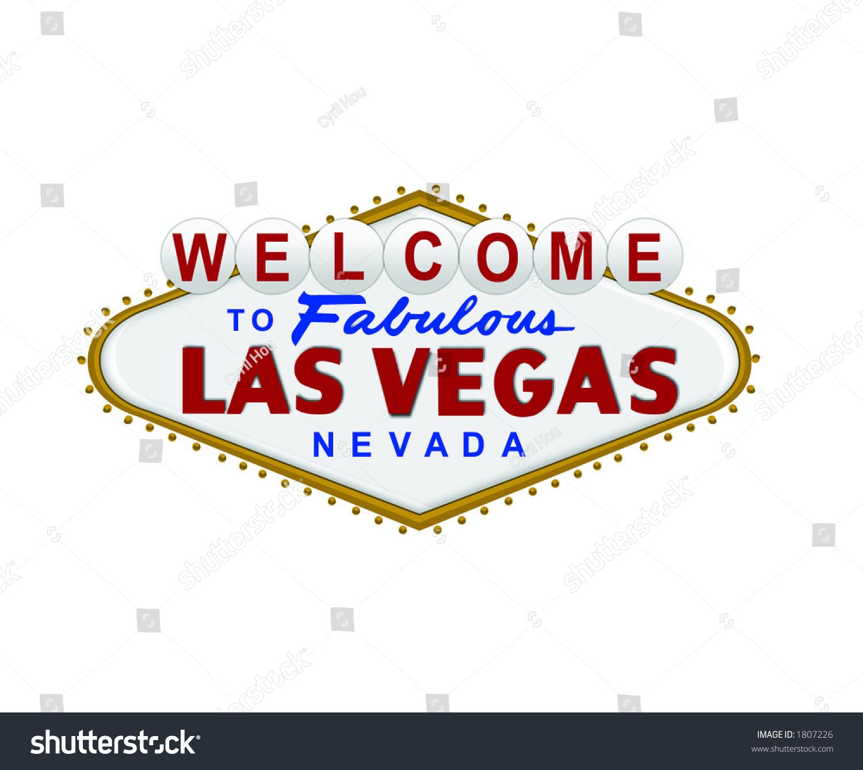 welcome las vegas sign vector stock vector 1807226 shutterstock rh shutterstock com welcome to fabulous las vegas sign vector las vegas sign vector free download