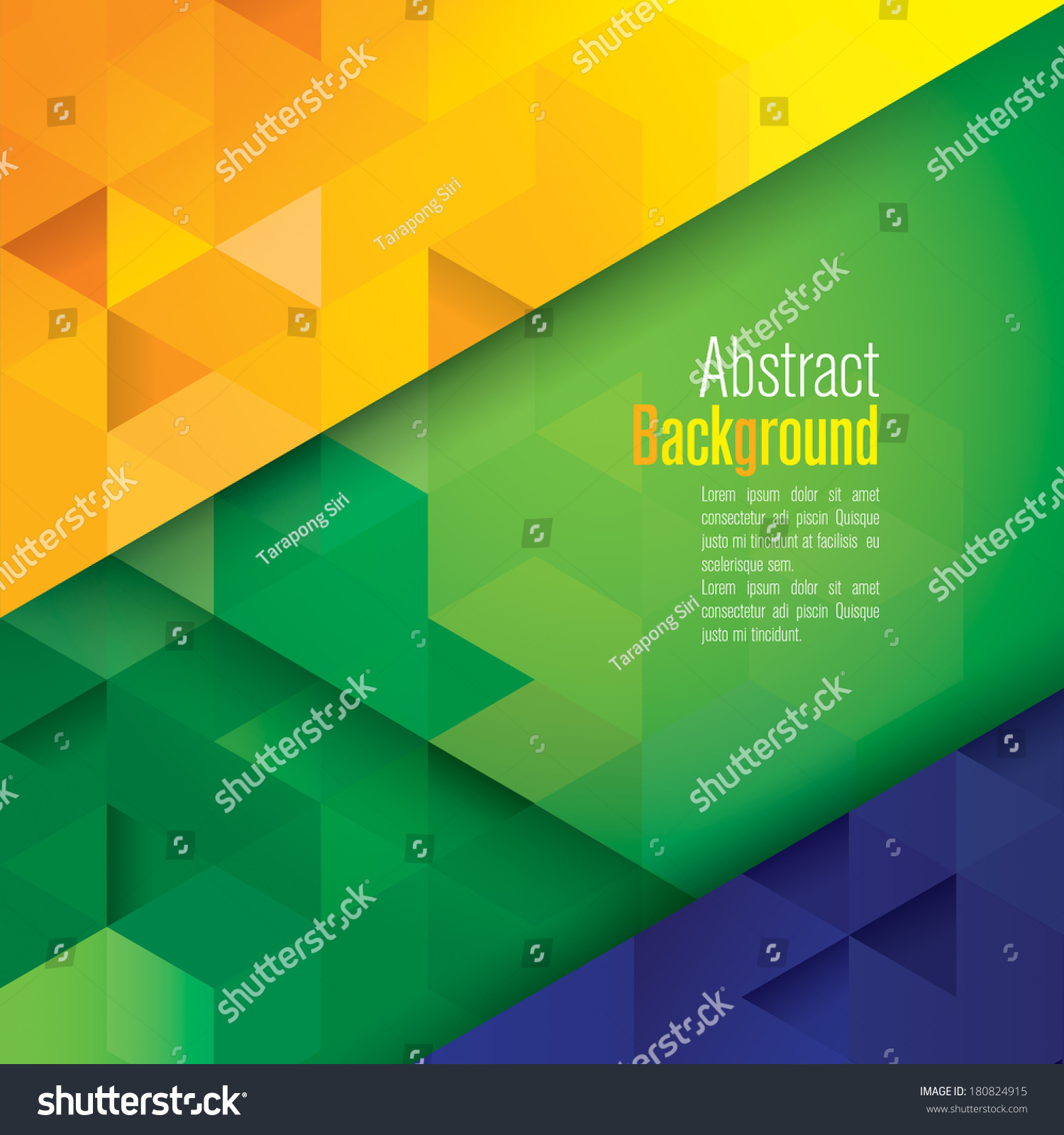 Book Cover Design Sites : Vector geometric background in brazil flag concept can be
