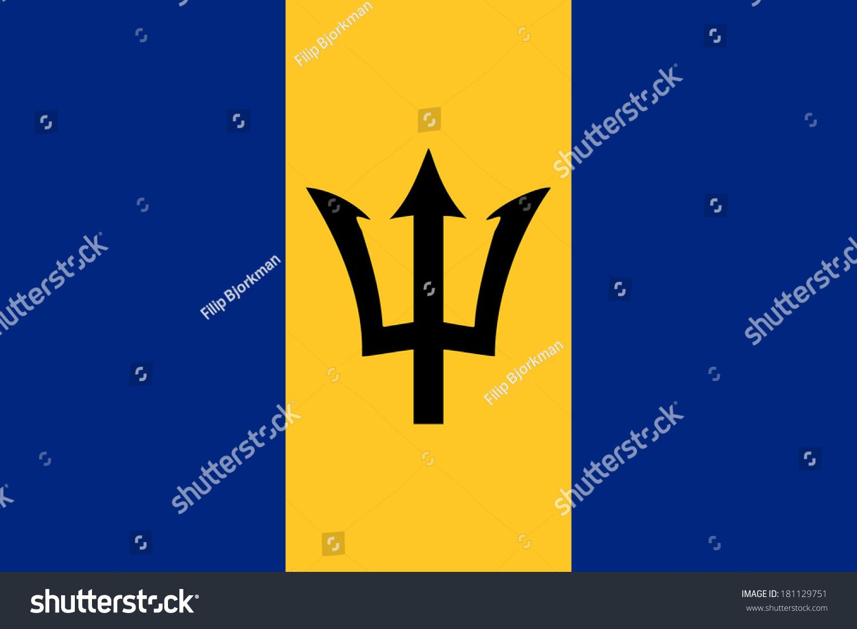 Barbados Flag Rgb
