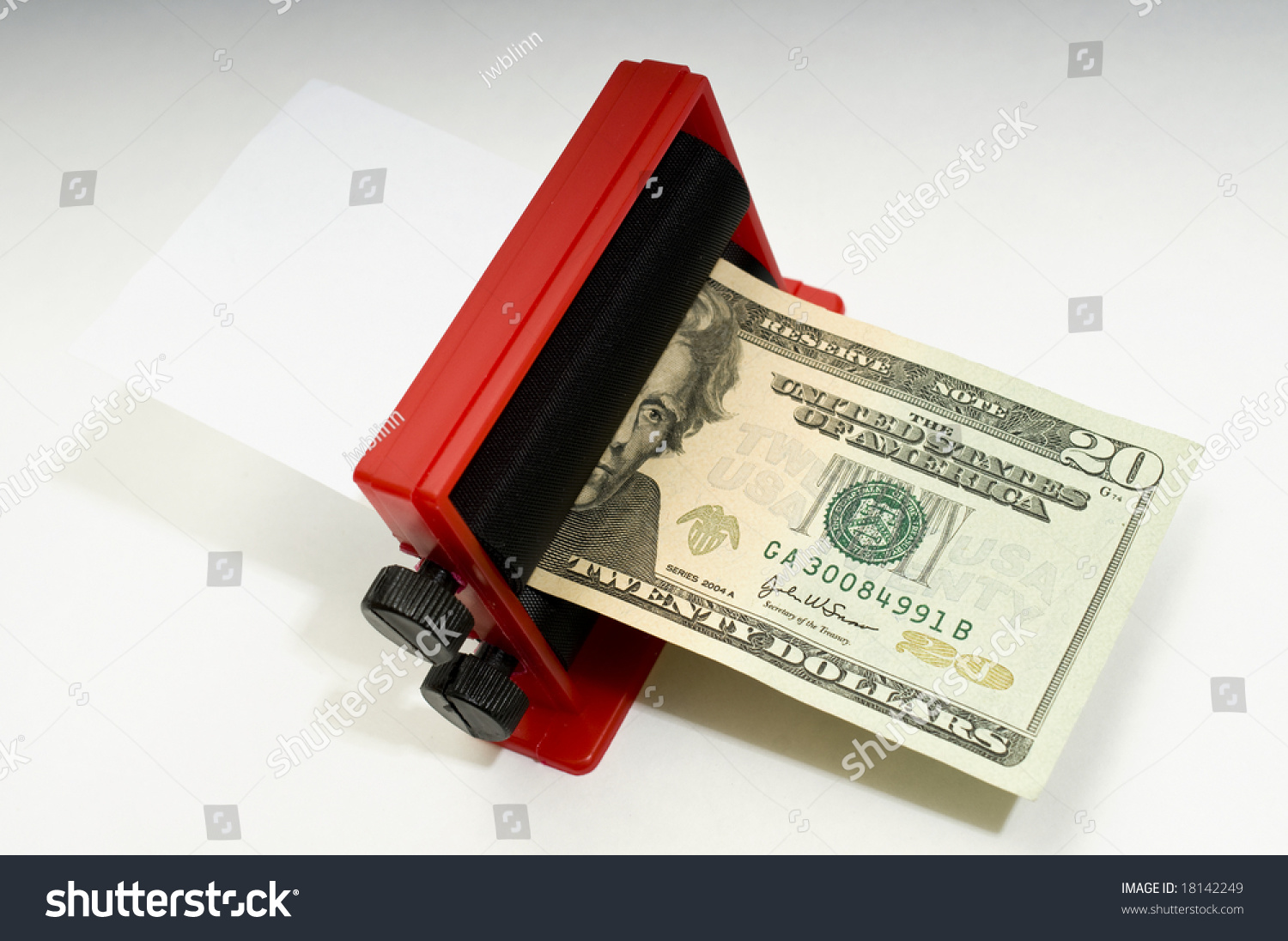 Printing Money Concept      Dollar Bills USA Currency Stock     Serbia     Dinara        Front  Geographer Jovan Cvijic