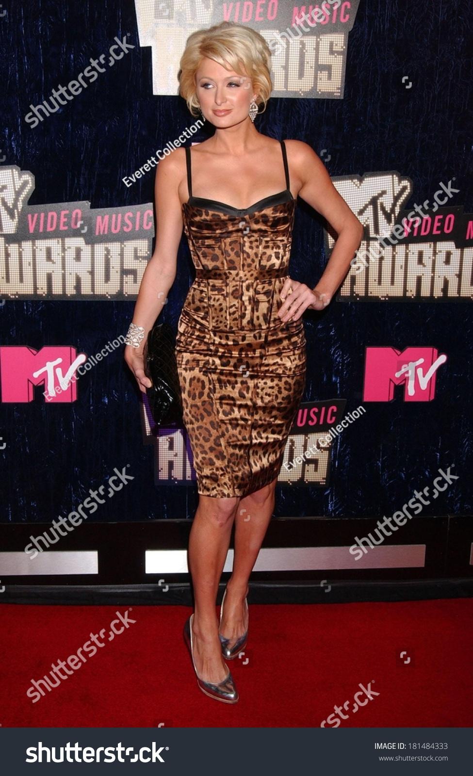Paris Hilton MTV Video Music Awards Stock Photo Edit Now 181484333