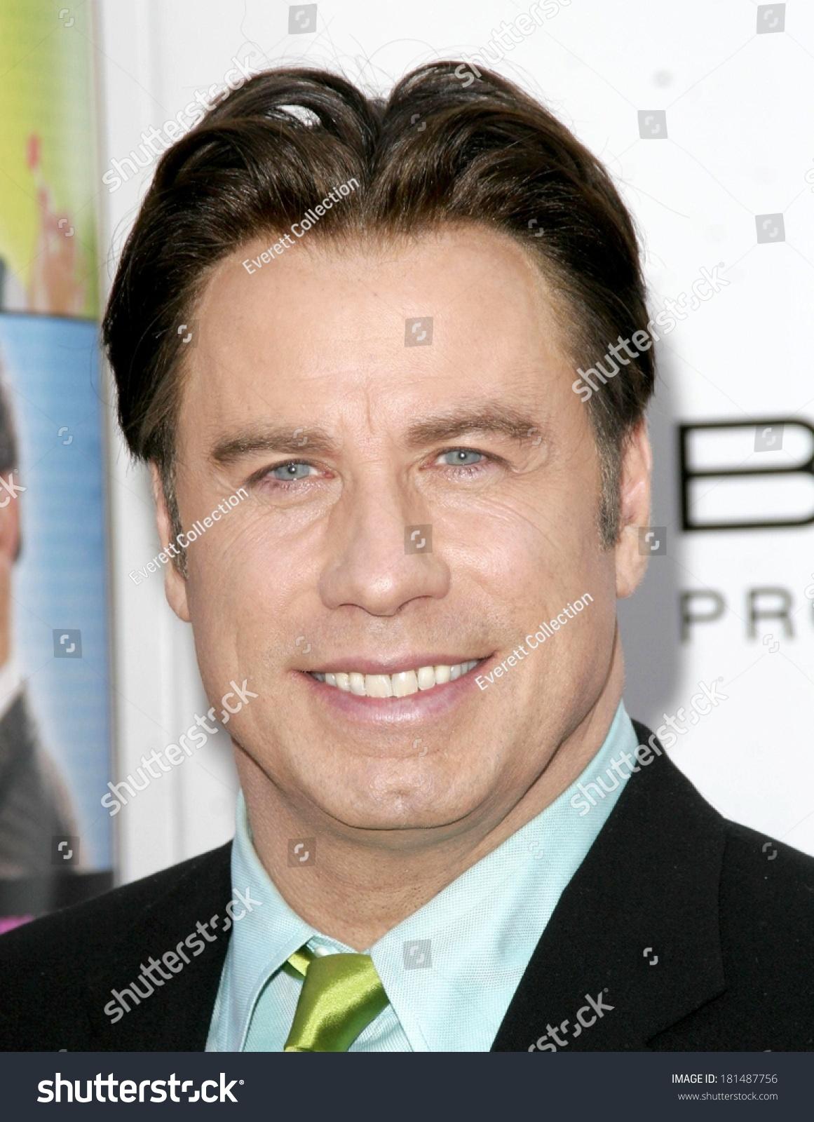 John Travolta Hairspray Premiere Manns Village Stock Photo Edit Now 181487756