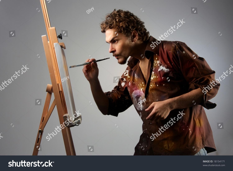 Free photo: Painting, Man Painting, Painter - Free Image on ...