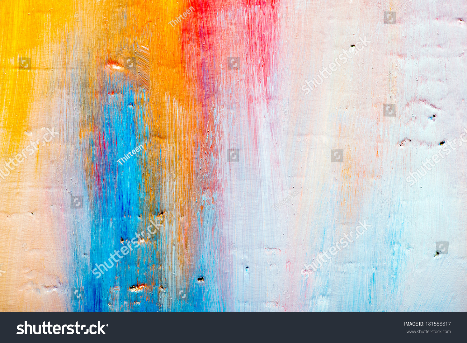 Abstract Art Background Handpainted Background Self Stock